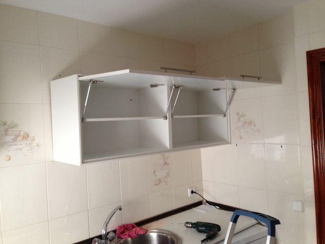 Mueble De Cocina En Melamina Blanca Con Imagenes Muebles De