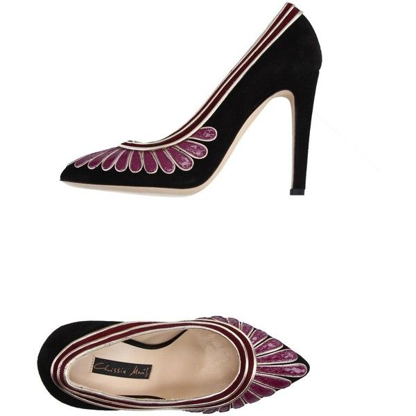Chrissie Morris Court (9.725 RUB) ❤ liked on Polyvore featuring shoes, pumps, deep purple, animal shoes, patterned pumps, animal print shoes, pattern leather shoes and leather footwear