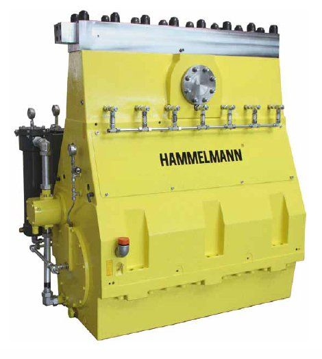 Hammelmann high pressure pumps are built to operate at the continuous maximum duty stated in the performance parameters, just compare the crankshaft speed, average plunger speed, plunger diameter and power rating.      Power ratings up to 1100kw     Vertical 7 cylinder design     Wide variety of complementary ancillaries.     Pressure upto- 3000 bar     Flow rate upto-2987 lpm
