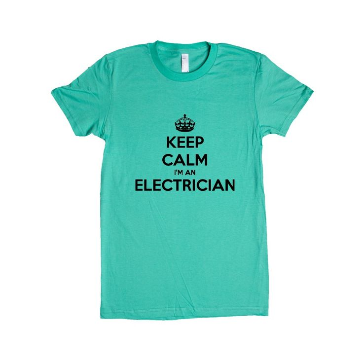 Keep Calm I'm An Electrician Electricity Tools Danger Job Jobs Career Careers Profession SGAL2 Women's Shirt