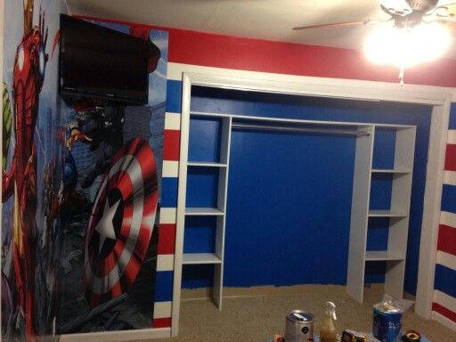 Avengers Boy Room , Character Room, Hulk Room, Iron Man Room @BooBearco @