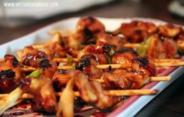 pollo yakitori
