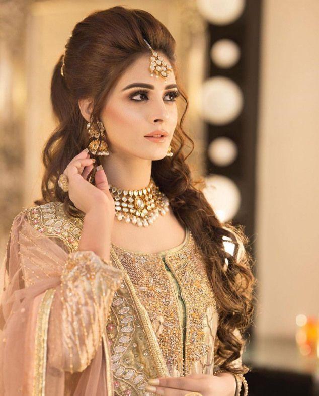 Hairstyle Pakistani Wedding Bridal Hairstyle Indian Wedding Pakistani Wedding Hairstyles Indian Bridal Hairstyles