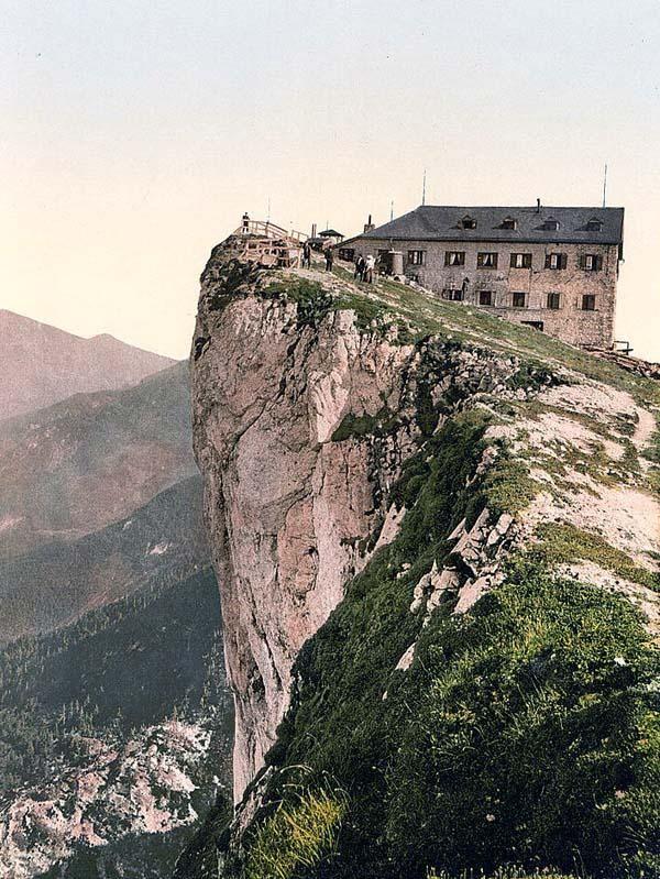 Image Of Hotel Schafberg Upper Austria Austro Hungary This Color Photochrome Print