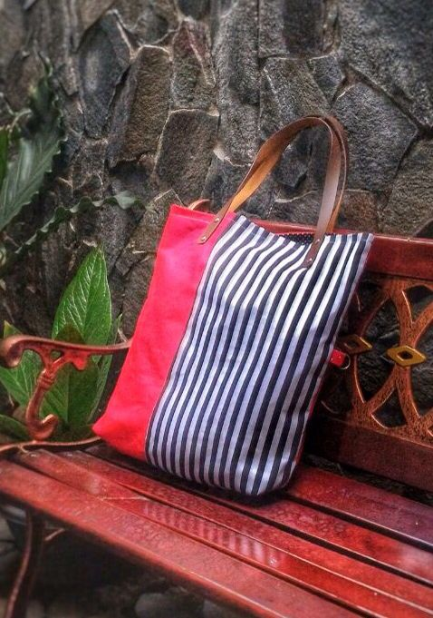 My big and simple tote bag