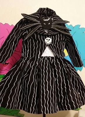 Halloween Shopaholic: Jack Skellington Costumes for Little Girls