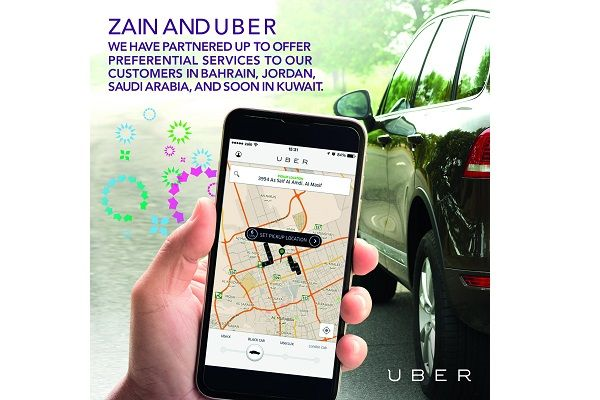 Research firm Ovum recognizes Zain-Uber partnership as the most innovative service across the globe