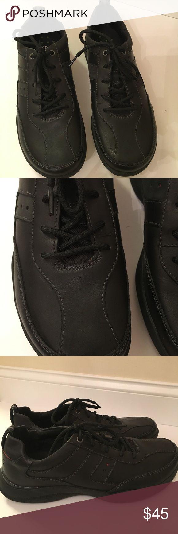 Men's Clarks Black Clark's Wave Walk Shoe, size 10.5, NWOT-worn once Clarks Shoes