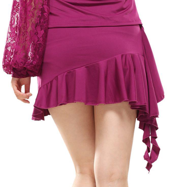 Латинский танец низ латинский танец одежда латинский танец юбка короткая юбка юбка до середины бедра женское