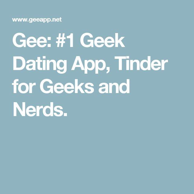 geek dating app hvordan man går om at danse en ven