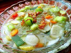 Resep Sup Oyong Segar | Resep Masakan Indonesia (Indonesian Food Recipe)