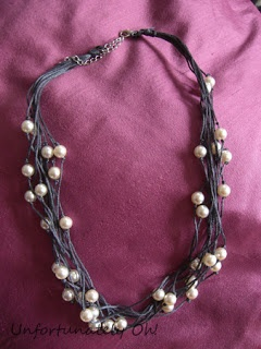 Embroidery Thread Knot Necklace - Instructions, photos and Materials on site.