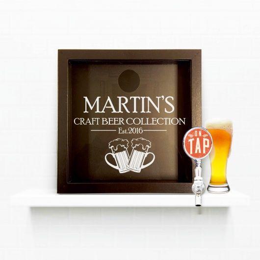 Craft Beer Cap Lover Collectors Box