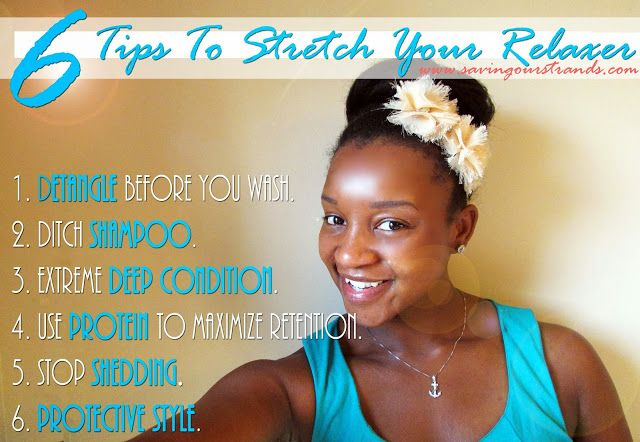 How To Stretch Your Relaxer, Over processed relaxed hair, Healthy Relaxed Hair,