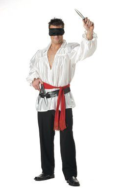 Knife Thrower Costume http://creative-halloween-costumes.happy-holidays.net/couples-halloween-costumes/creative-couples-halloween-costumes