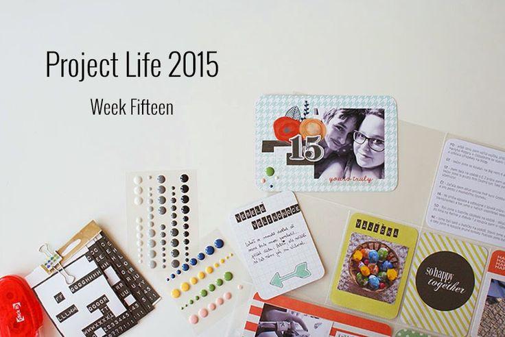 Amca Design: PROJECT LIFE - Year 2015 Week fifteen