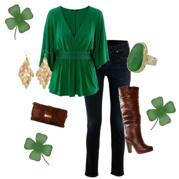 St. Patricks Day, created by kristen-hussey.polyvore.com
