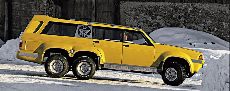 Sbarro Windhawk (Sbarro), 1978 This makes me wish I had bought a cheap AMC eagle and given it the 6 wheel treatment!