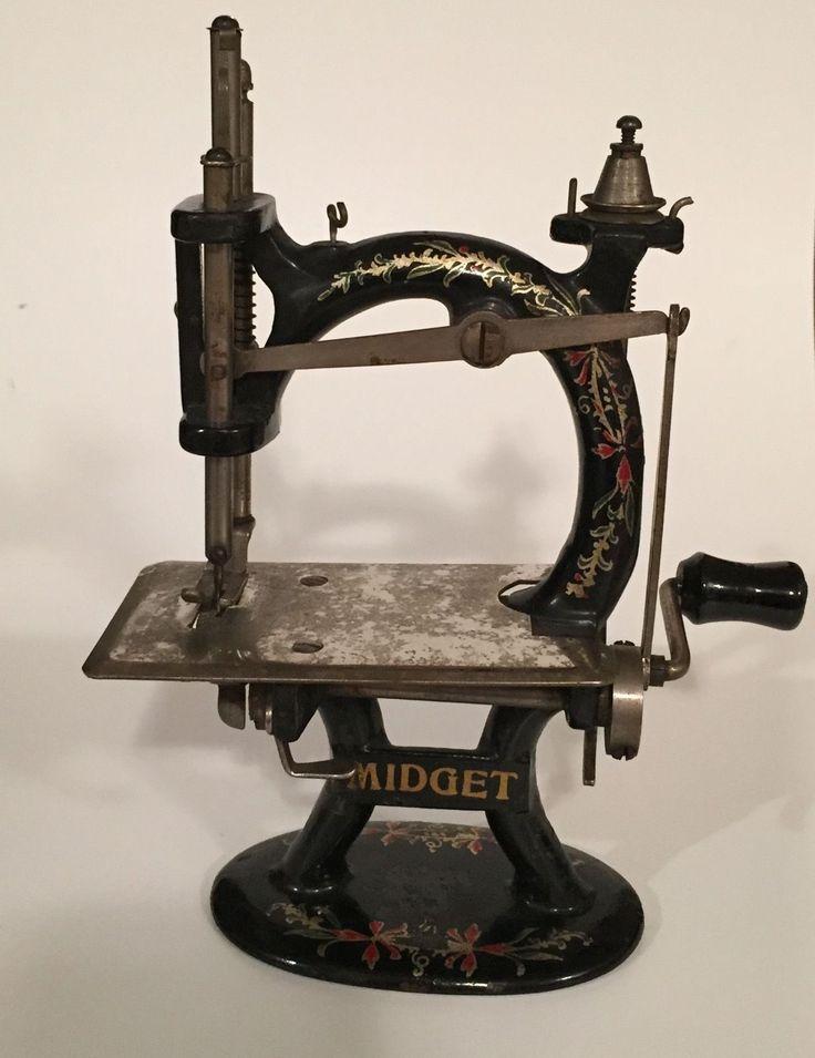 Midget sewing machine value
