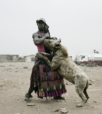 Hyena man of Nigeria. Photo credit: Pieter Hugo