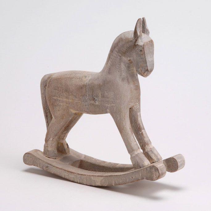 cheval à bascule en bois de manguier amadeus chevaux à bascule ...