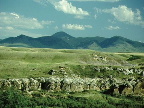 The Cypress Hills are the highest point in Canada between Labrador and the Rockies. Canadian Plains Research Center Source: Ecoregions of Saskatchewan (1998)