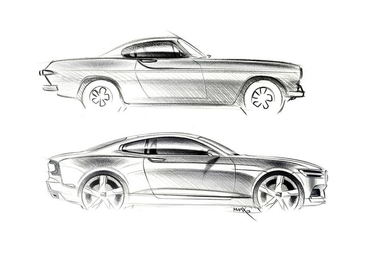 Volvo Concept Coupe and their two door history in images | 30Npire