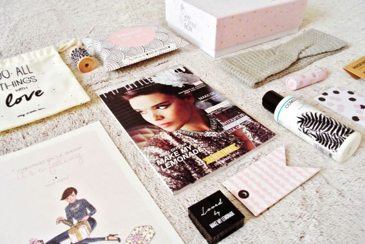 My Little Box by Make My Lemonade | #MyLittleBox