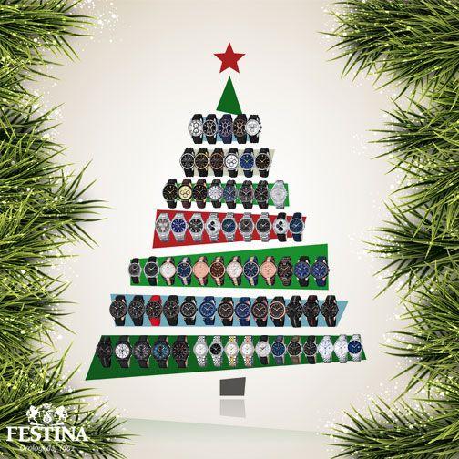 Finalmente #Natale! Avete ricevuto un orologio Festina? Postate la vostra foto nei commenti, e buone Feste!