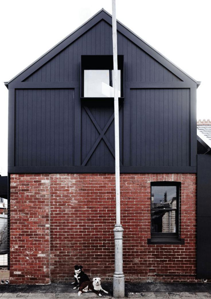 20 Dramatic Home Exteriors Proving Black is the New Black - http://freshome.com/black-exterior-idea/