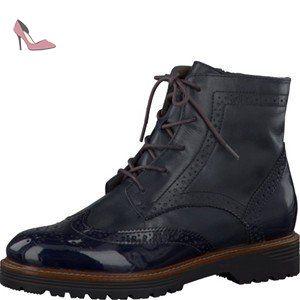 Jana 8-8-23602-28 913, Chaussures de ville à lacets pour femme - argent - SILVER COMB., 37 EU