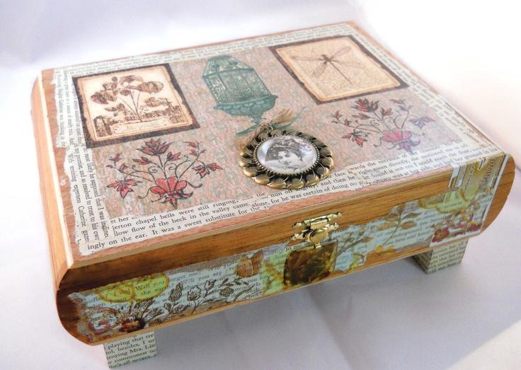 47 best cigar box art images on pinterest box art cigar for Cardboard cigar box crafts