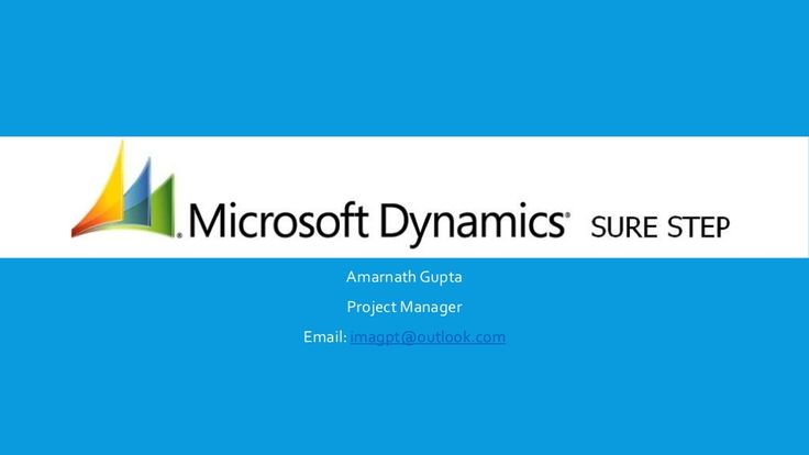 Microsoft Dynamics Sure Step Training by Amarnath Gupta via slideshare