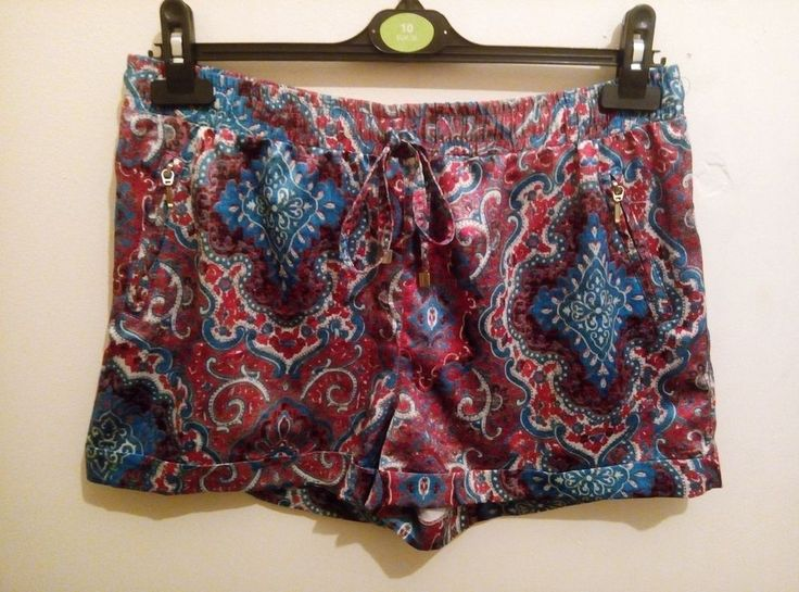 ATMOSPHERE PINK BLUE  SHORTS SIZE 12 (A)
