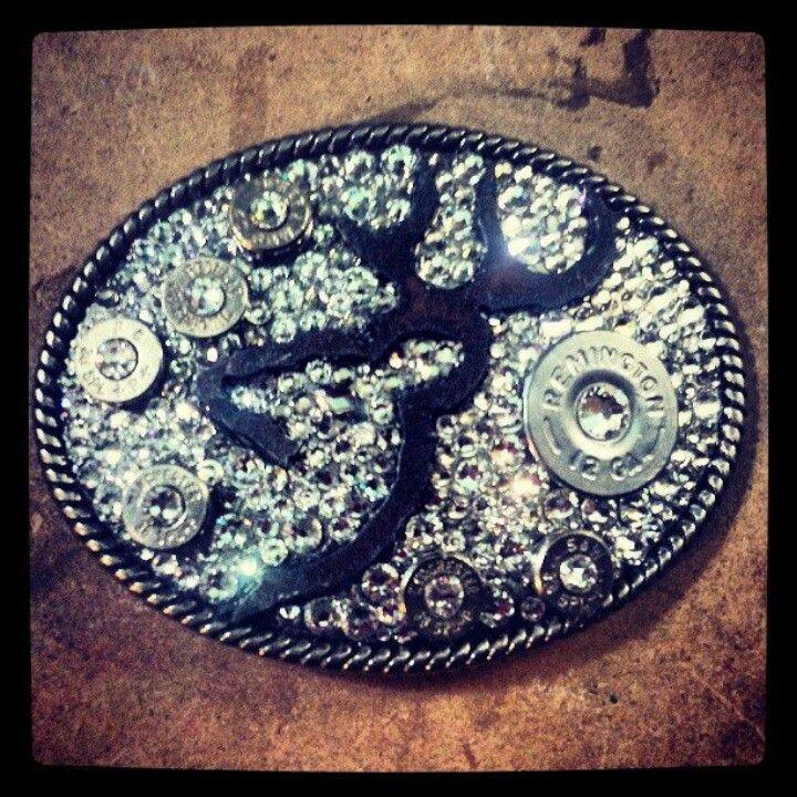 Browning belt buckle