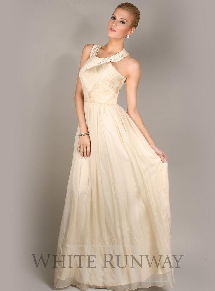 Silk Romance Halter Dress - $399