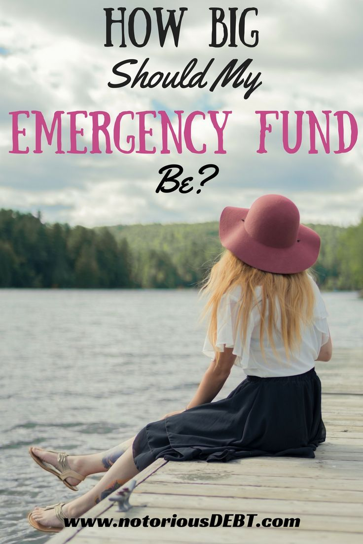 I used to go broke EVERY time something happened, but now that I'm saving up, I'm actually able to stay above water for the first time! Once I've saved up a big enough emergency fund according to these guidelines, I know I'll be safe and I can finally sleep at night!