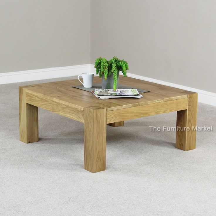 17 best images about chunky oak on pinterest handmade for Large chunky coffee table