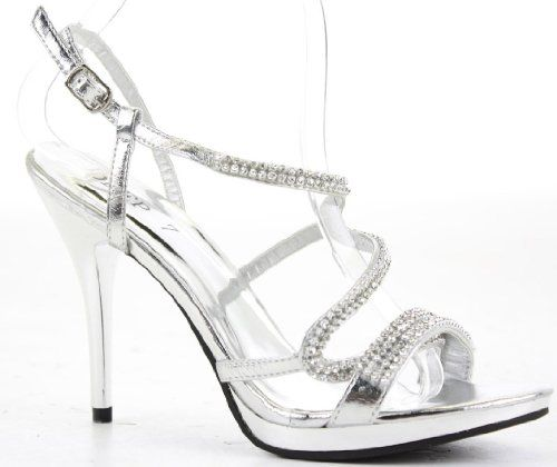 Womens Party Platform Sandals High Heels Stiletto Prom Peeptoe Strappy Shoes Size 3-8: Amazon.co.uk: Shoes & Bags