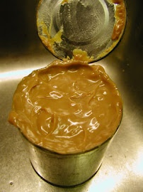 carmelLow Complete, Onds Milk, Crock Pots, Mothers Taught, Homemade Caramel, Complete Submerged, Condensed Milk, Sweetened Condensed, Caramel