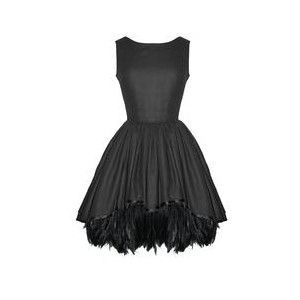 Sammi feather dress