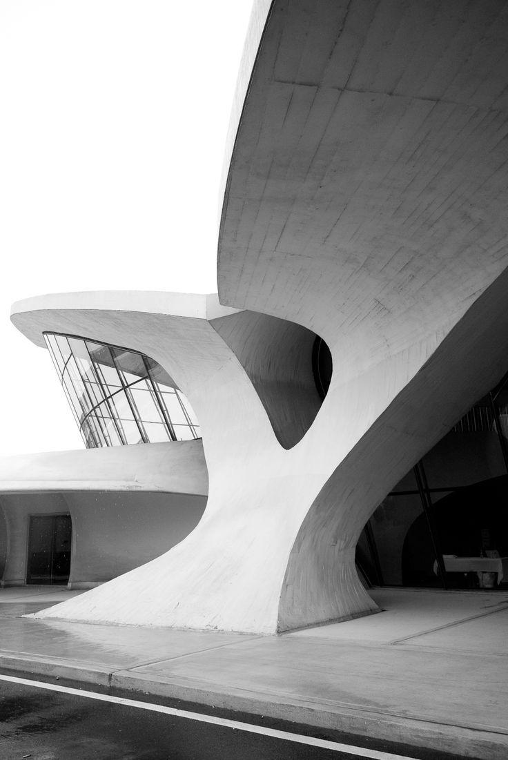 TWA Terminal. Eero Saarinen
