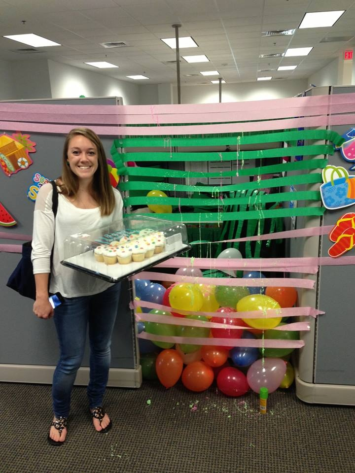 Happy birthday lindsay officeshenanigans for 50th birthday decoration ideas for office