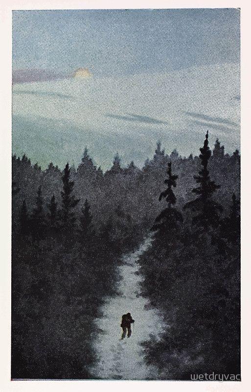Postcard Postkort av Theodor Kittelsen 13625854864  by wetdryvac