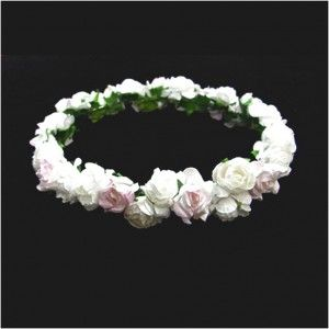 Affordable Inspiration Of Making Paper Flowers For Indian Wreath Nice White Color And Attractive
