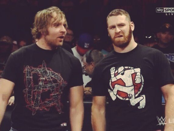 Dean Ambrose & Sami Zayn!  Two of my favorites wish they would've been drafted to the same brand. They make an awesome tag team