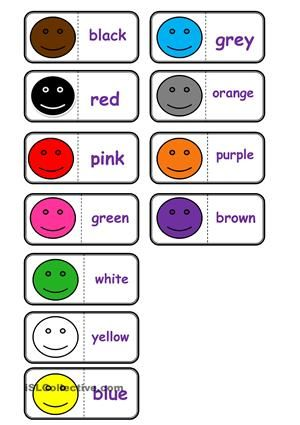Colours, domino
