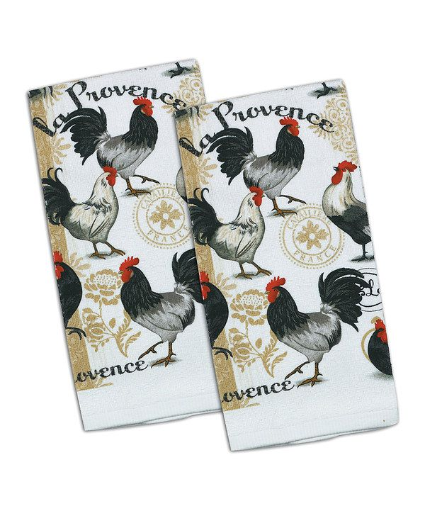 Look at this La Provence Kitchen Towel - Set of Two on #zulily today!