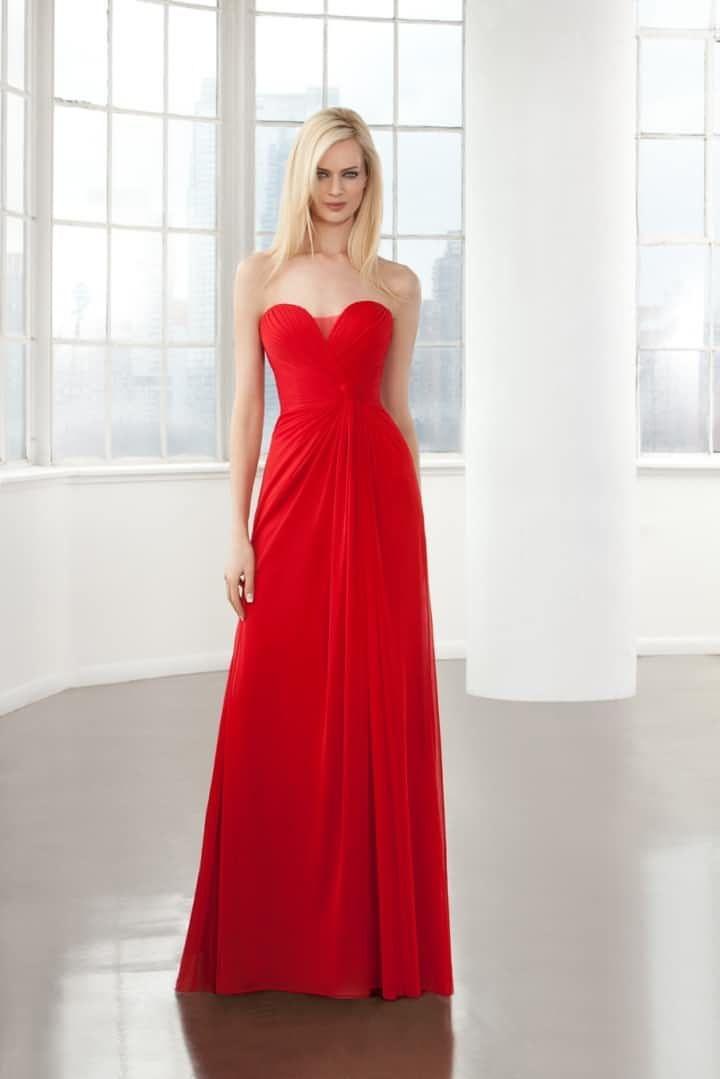 fe8684c93f0f 45 vestidos rojos de noche que te hipnotizarán | Wear some red ...