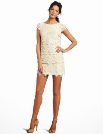 lace dress: Cream Lace Dress